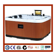 portable spa bathtub with 15 tv