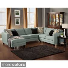 sectional couches. Poundex Sectional Couch 3 Piece Living Room Set Sofa With Reversible Chaise Ottoman Draped In Couches