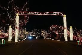 Yogi Bear Park Eureka Mo Christmas Lights Celebration Of Lights In Ofallon Missouri