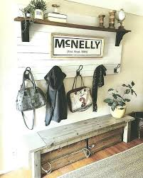 Front Door Bench Coat Rack Best White Entry Bench Front Door Ideas Furniture Storage Entryway With