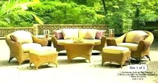 outdoor wicker patio furniture reviews resin replacement cushions home depot furn