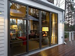 french doors from front porch to living