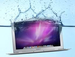 Image result for liquid spill in laptop