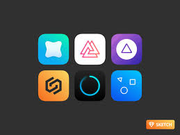 best app icons collection 156 icon set lovers sketchapp tv the best free