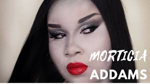 morticia addams makeup transformation 2017 makeupbyshaniah