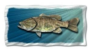 full size of kids room painting decor wallpaper small mouth bass fish metal wall hanging art