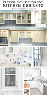 best 25 reface kitchen cabinets ideas