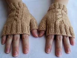 Free Fingerless Gloves Knitting Pattern Gorgeous Cabled Fingerless Mitts ⋆ Knitting Bee