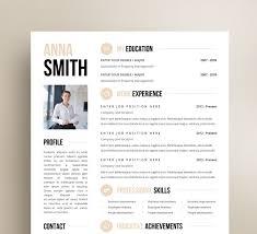Resume Format Template Free Best Modern Resume Design New