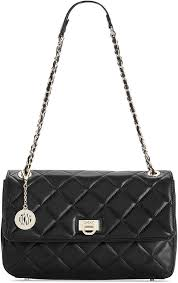 DKNY Gansevoort Quilted Nappa Shoulder Bag | Where to buy & how to ... & ... Leather Satchel Bags DKNY Gansevoort Quilted Nappa Shoulder Bag ... Adamdwight.com