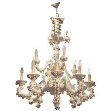 capodimonte porcelain twelve lights chandelier with putti and for porcelain chandelier view 9 of