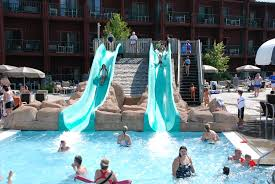 located on 600 acres in wisconsin dells the wilderness hotel and golf resort is america s largest waterpark resort they offer diverse lodging options