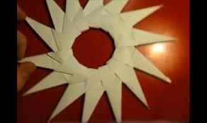 Anleitung Modulares Origami Stern Falten