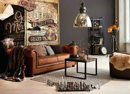 furniture industrial style. Industrial Style Living Room Used Look  Furniture