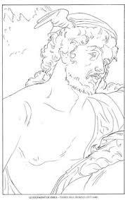 Small Picture Orpheline au cimetiereEugene Delacroix Famous paintings coloring