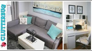 Idea decorating office Office Desk Office Makeover Small Home Office Decorating And Organizing Ideas And Tour Youtube Office Makeover Small Home Office Decorating And Organizing Ideas
