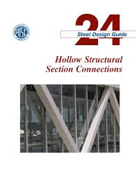 Hss Beam Design Example Aisc Design Guide 24 Hollow Structural Section Connections