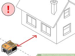 how to connect a portable generator to a house steps image titled connect a portable generator to a house step 7