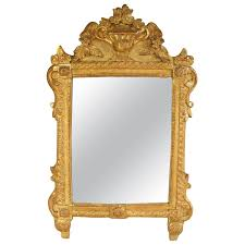 hand holding antique mirror. French Louis XVI Richly Carved Gilt Mirror For Vanity Or Wall, 18th Century Hand Holding Antique N