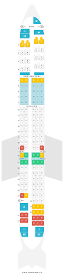 Md 80 Aircraft Seating Chart Seat Map Mcdonnell Douglas Douglas Md80 M80 American