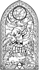 Small Picture Zelda Coloring Pages Printable Zelda Coloring Pages For Kids