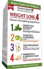 Doctor's Select Weight Loss 4 Dietary Supplement Tablets, 90 Ct ...