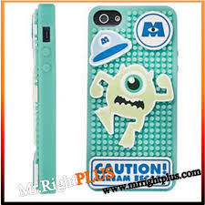 disney monsters inc 2016 mike diy silicone soft case cover for iphone 5 5g