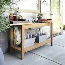 regatta natural console bar work station garden party inspiration outdoor bar carts outdoor bar cart ikea