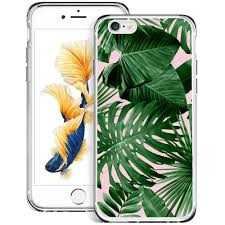 Iphone 6 Plus Cases Designs Tropical Palm Leaves Iphone 6s Plus 6 Plus Case Customized Design Anti Scratch Flexible Shock Absorption Soft Tpu Protective Phone Case For Iphone 6s