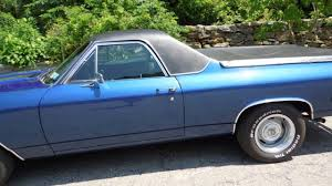 1969 Chevrolet El Camino - REAL! SS-396 - 4 speed car / SOLD - YouTube