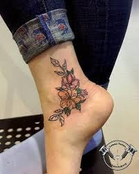 цветочная татуировка для кристины татуировка Tattooакварель