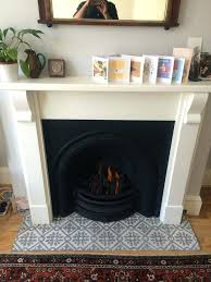 fireplace hearth tile image result for tile in front of white fireplace fireplace hearth tile adhesive fireplace hearth tile