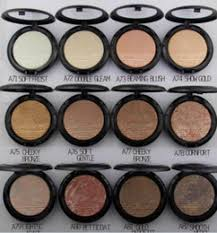 new brand makeup face holiday powder bronzer extra dimension skinfinish face powder 9g 12 diffe colors 6pcs lot