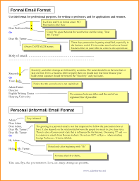 5 Official Email Format Cook Resume