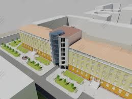 Скачать дипломный проект Общественное и этажное здание диплом  Просмотр товара 3d визуализация