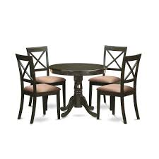 5 Pc Small Kitchen Table And Chairs Set Kitchen Table And 4 Chairs
