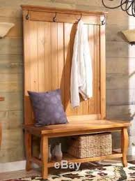 Hat And Coat Rack Tree Hall Tree Entryway Coat Rack Stand Furniture Storage Bench Hold 69