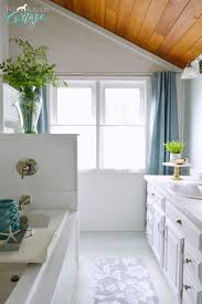 Coastal Cottage Bathroom Makeover Fox Hollow Cottage - Bathroom makeover