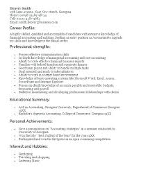 Resume Examples Accounting Sample Professional Resume
