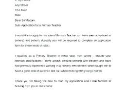 Primary Teacher Cover Letter Cover Letter Examples Download Primary Teacher Cover Letter Primary