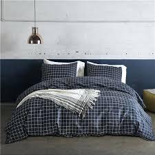 duvet cover pattern minimalist black and white plaid pattern 2 pillowcase duvet cover set bedding sets duvet cover pattern