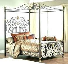 king single iron bed frame – karyncassel.co