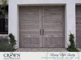 vintage garage doorsVintage Doors Orange County  CrownsGDcom