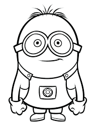 Ideas Minions Coloring Pages Pdf And Minion Coloring Pages Printable
