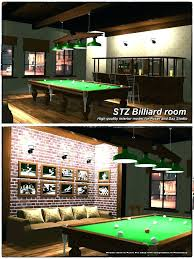 billiard room decor pool table ideas wall decorating