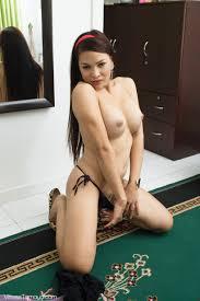 Excellent TS Vivian Tamayo receives buck nude Amazing TS Vivian.