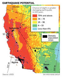 The largest earthquake in san francisco bay area, california: New Earthquake Hazard Map Shows Higher Risk In Some Bay Area Cities