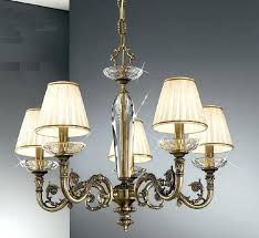 chandeliers shades for chandelier 5 light antique brass with lamp not clip on shades for chandelier