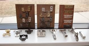 choose cabinet door hinges types