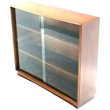 bookcase with sliding glass doors door bookcases antique oak slid